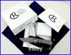 (1) Chris Reeve Knives Small Inkosi Damasteel blade CRK New In Box Blade Show