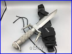 1985 Buck 184 BuckMaster Knife With Factory Sheath & Papers Buck Mint In Box