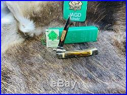 1989 Vintage Puma 563 Medici Knife With Stag Handles With Tag Mint In Box ++++