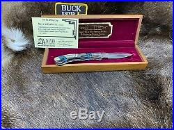 1995 Buck David Yellowhorse 532 Custom Nava Land Knife Vintage Edition Mint