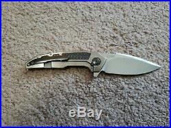 A2 knives Andre Thorburn A6 midi frame lock m390 zirconium carbon fiber