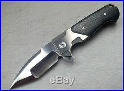 Andre De Villiers Adv Custom Tactical Ronin Flipper Knife Prototype