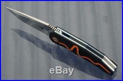 Andre Thorburn Andre van Heerden A2, model A5 flipper folder knife