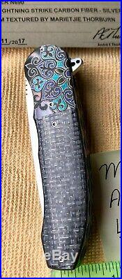 Andre Thorburn LL48 folding Knife hand-built by Andre