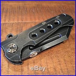 Andre de Villier ADV Butcher Custom Folding Knife Flipper Folder