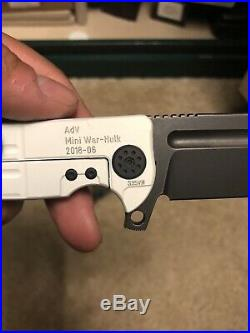 Andre de Villiers ADV Mini War Hulk Butcher Frame Lock Knife