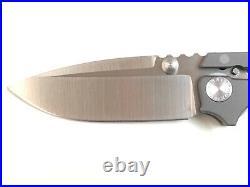 Andrew Demko Custom Knife AD 15 TITANIUM 20CV