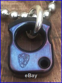 Andy Frankart AFK Jeremy Horton SFK Nano Pendant & Steel Flame Seed Bead Chain