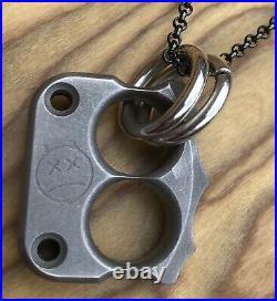 Andy Frankart Afrankart AFK Beezelknuck DFK Nano Pendant & Steel Flame Chain
