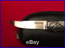 Andy Shinosky Custom Lock Back Folder Knife Knives