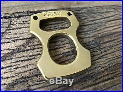 BRNLY Cypop Stonewashed Brass. 25 Knuck Bottle Opener by Lucas Burnley Mint