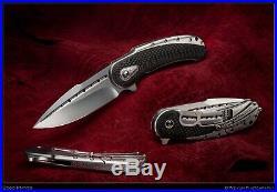 Begg Knives Custom Bodega PROTOTYPE 1st One Ever Built Satin Fluted CPM-154 USA