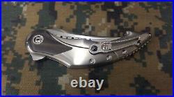 Begg Knives Custom Mandera with Zirconium Inlays