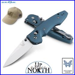 Benchmade 477-1 EMISSARY 3.5 Axis-Assist Knife S30V Modified Drop-Point FREE HAT