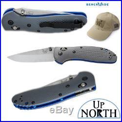 Benchmade 551-1 Griptilian Knife AXIS CPM-20CV Satin Blade G10 Handle FREE HAT
