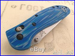 Benchmade 551-1404 Griptilian Camp Perry 2014 Limited Edition. (D2, Blue G10)