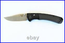 Benchmade Customized Mini Crooked River with Damasteel Blade