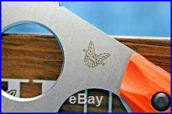 Benchmade Nestucca Cleaver 15100-1 Hunt Blue Class! Cpm-s30v Fixed Blade