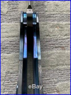 Black Snow Customs Folder Knife Handmade Custom Folding Knives Wow