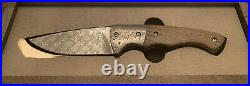 Boker 2008 496/999 Damast Damascus 300 Layers Folding Knife Solingen Germany