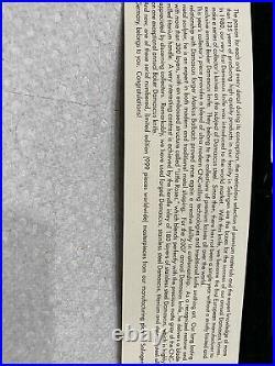 Boker Damast Jahresmesser 2007 Damascus Annual Year knife 247/999 In Box