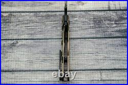 Borka Blades Custom Stitch, DLC M390, Bronze/Gold-Orange Peeled Titanium, WithPouch
