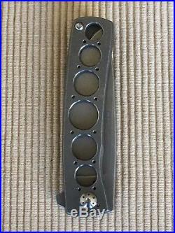 Brad Zinker Custom FR Framelock Flipper