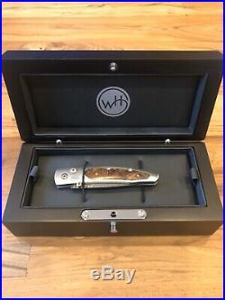 Brand New William Henry Lancet Pocket Knife Aerospace Grade Titanium
