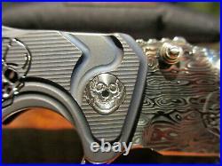 Brian Tighe Fighter Damasteel Skulls Custom
