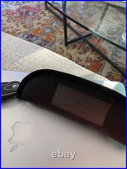 Brian Tighe Full Custom Tighe Breaker Button-Lock Flipper Folding Knife