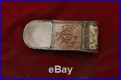 Buck 110 Nickel Silver Engraved Bolsters & File-Work Specialized custom