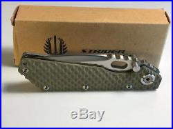 Buck BOS STRIDER Folding Knife BOS USA +Clip