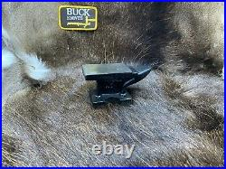 Buck Knife Miniature Black Iron Collectible Anvil Mint In Factory Box
