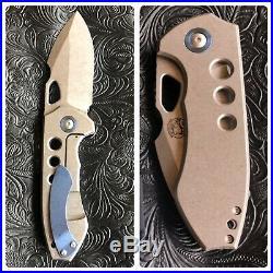 Burchtree Bladeworks Custom V4 Knife by Michael Birch Burch Birchtree Blades