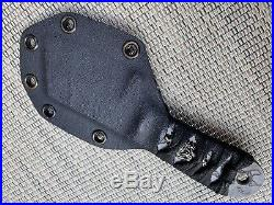 Burchtree Bladeworks / Steel Flame Collaboration'Small Dao' Fixed Blade Knife