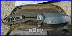 CURTISS Knives F3 Med. WH/EM/ DAMASTEEL CUSTOM New