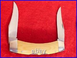 Case XX USA 1980 10 dot Texas Lockhorn micarta Pat Pend mint lockback knife