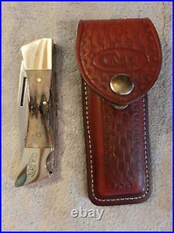 Case stag hammerhead sportsmen's lock blade folding knife