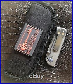 Chaves Custom Knives Redencion 228 Friction Folder V2-2nd Run