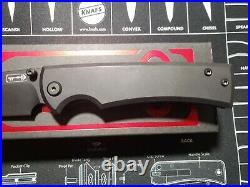 Chaves Knives Liberation 229 Blackout Exclusive Limited M390 PVD Titanium