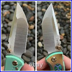 Chaves Knives Redencion 229 Knife Ti Handles & Tanto Blade Mods by FanaticEdge