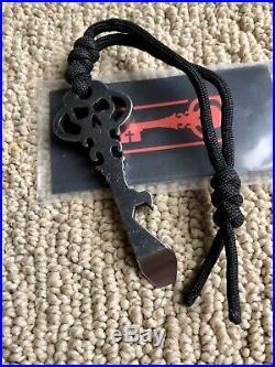 Chaves Knives Skeleton Key in D2 EDC pocket tool bottle opener NEW