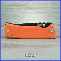 Chaves Knives Ultramar Redencion Drop Point PVD Code Orange G10 Ramon Chavez