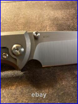 Chaves Liberation 229 Drop Point Stone Washed Titanium