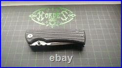 Chaves Redencion 229 StreetFrame Lock Knife Titanium/Black G-10 S35VN Drop Point