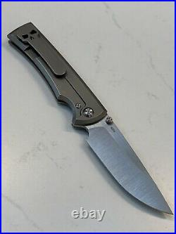 Chaves Ultramar Liberation 229 Seigaiha Wave Pattern Titanium Exclusive New