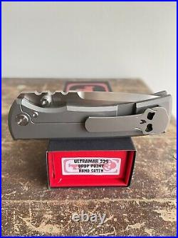 Chaves Ultramar Redencion 229 Drop Point Knife M390 Hand Satin finish Rare LNIB