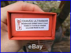 Chaves Ultramar Redencion Street Drop Point Machine Finish