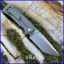 Chaves Ultramar Redencion Street Tanto Knife Black Micarta (3.25 Machine Blade)