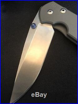 Chris Reeve Knife Drop Point Large Sebenza 21 Titanium S35VN SEE DESCRIPTION